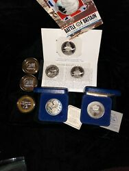 Silver Coins Proofs Assortment