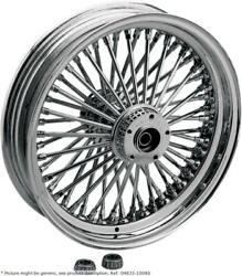 Fat Daddy Front Wheel 18x3.5 Single-disc Chrome - Harley Davidson Heritage So...