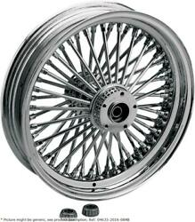 Fat Daddy Front Wheel 16x3.5 Dual-disc Chrome - Harley Davidson Abs Glide Roa...