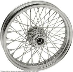 Wheel Assemblies Laced 60-spoke Front Chrome - Indian Abs Chieftain Chief Dar...