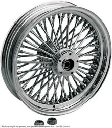 Fat Daddy Front Wheel 18x3.5 Single-disc Chrome - Harley Davidson Softail Her...