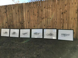 Charles M. Russell Collection Of Limited Edition Prints 211/750 Set Of 6