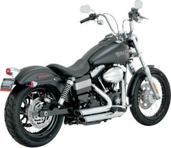 Exhaust System Short Shots Staggered Chrome - Harley Davidson Dyna Abs Bob St...
