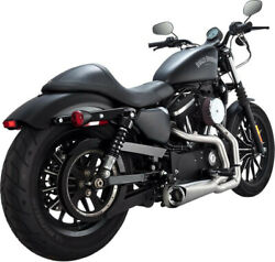 Exhaust System 2-into-1 Competition Series Stainless Steel - Harley Davidson ...