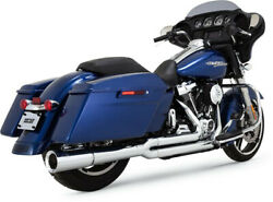 Exhaust System Pro-pipe 2-into-1 Chrome - Harley Davidson Abs Glide Road Ultr...