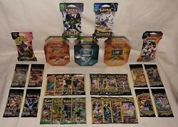 Jolteon Flareon And Vaporeon Tin Lot 37 Booster Packs Team Up Cosmic Eclipse Ultra
