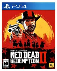 Red Dead Redemption 2 Ps4 Brand New Factory Sealed Playstation 4 Rockstar Games