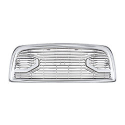 Fits For 2013-2018 Dodge Ram 2500-5500 Chrome Laramie Limited Front Grille