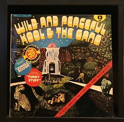 Kool And The Gang wild And Peaceful Lp Rare Turkish Pressing Max 1728 Funk