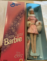 New In Box 1997 Winter Dazzle Barbie General Mills Special Edition 18456 Nrfb