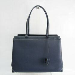 Goyard Bellechasse Biaude Cg12cl12p Womenand039s Leather Tote Bag Navy Bf522259