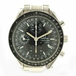 Omega Speedmaster Mark 40 Cosmos 3520.50 Black Dial Automatic Menand039s Watch Ex++