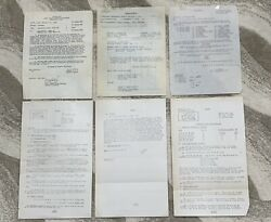 Original Ww2 325th Glider 82nd Airborne Paratrooper Named Capt Paper Grouping