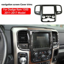 Center Console Navigation Dashboard Trim Cover Panel For Dodge Ram 1500 2011-17