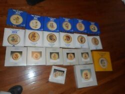 20 Hummel Collector Plates 1973 -1989 Plus Others