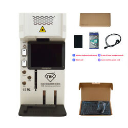 Tbk-958b Automatic Laser Screen Removal And Marking Machine