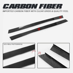 For Toyota Ft86 Carbon Fiber Vrs Style Wide Body Side Skirt Air Flowing Guards