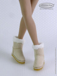 1/6 Phicen Tbleague Hot Toys And Nouveau Toys - Female Beige Skin Leather Boots