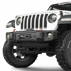 Rugged Ridge Spartacus Stubby Front Winch Bumper For Wrangler 18-20/gladiator 20