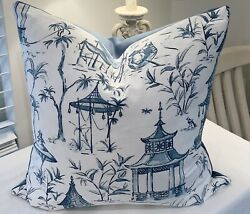 Decorative Pillow Covers Chinoiserie