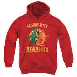 Gumby Bendefits Youth Hoodie Ages 8-12