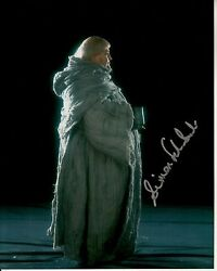 Simon Fisher-becker Hand-signed Harry Potter And Sorcerer's Stone 8x10 Uacc Rd Coa
