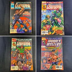 Lot Of 4 Journey Into Mystery No. 510, 511, 512, 514 Marvel Comics June 1997