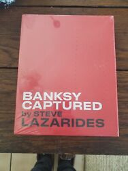 Banksy Captured By Steve Lazarides Friends And Family Edition X/500 In Hand