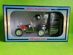 Snap-on 1920s Pedal Racer Bank With Mini Tool Chest 16 Scale-sealed Box