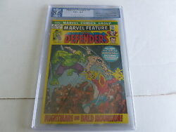 Marvel Feature 2 Graded  8.5  2nd Defenders