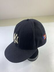 New York Yankees Puerto Rico Flag New Era 9fifty Men's Fitted Hat Cap Size 7 3/4