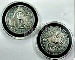 Patriot Donand039t Tread On Me 1oz Antique Toning .999 Silver Round ☆1 Coin From Lot☆