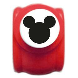 Disney Craft Paper Punch Of Mickey Mouse Logo