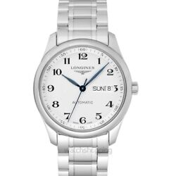 Longines The Longines Master Collection L27554786 Silver Dial Menand039s Watch