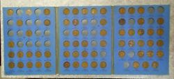 63 Coin Set 1909-1940 Lincoln Wheat Penny Cent - Early Dates Collection 400
