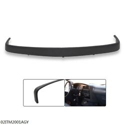 Pickup Truck Top Dash Pad Trim Bezel Gray Fit For 1989 90 91 92 93 94 95 Toyota
