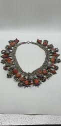 Bijoux Kabyle Jewelry Kabyle North Afrique Silver And Coral