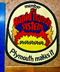 Rapid Transit Patch Plymouth
