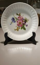 6 Arzberg China Germany Floral Salad Plate 7 5/8 Dia.