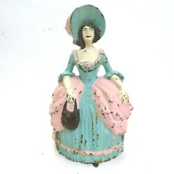 Littco Products Cast Iron Colonial Woman 1930s