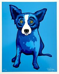 Blue Skies Shining On Me, Limited Edition Silkscreen, George Rodrigue