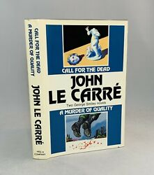 Call For The Dead-a Murder Of Quality-2 In 1-john Le Carre-signed-bce-very Rare