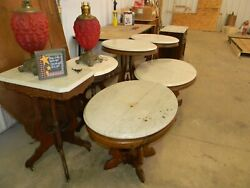 Early Victorian Marble Top Tables