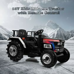 12v Kids Ride On Car Tractor Vehicle Electric Battery Powered W/ Remote Control
