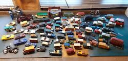 81 Vintage Toy Collectable Cars.mainly Diecast