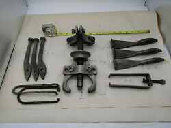 Snap-on Tools Blue Point 10-1 2 And 3 Jaw Large Gear Puller Set Usa Free Ship