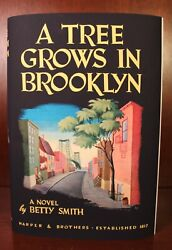 A Tree Grows In Brooklyn Signed Betty Smith First Edition 1st Printing 1943