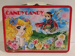 1980and039s Vintage Japanese Candy Candy Metal Lunch Box From Japan Rare