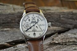 Vintage Watch Masons, Mechanism 3602 Watches For Men, Mens Watch Military Watch