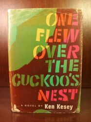 Signed One Flew Over The Cuckooand039s Nest Ken Kesey First Edition 1962